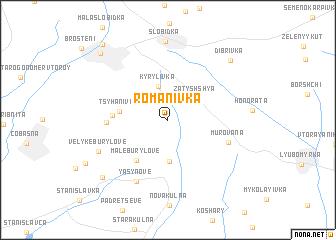 map of Romanivka