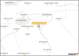 map of Romanovo