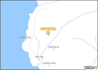 map of Romeral