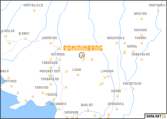 map of Rominimbang
