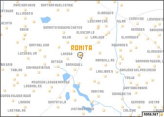 Mexico Map Guanajuato.Romita Mexico Map Nona Net