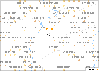 map of Rom