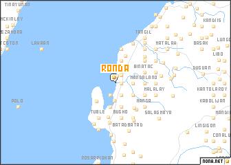 map of Ronda