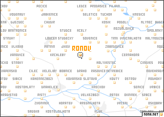map of Ronov