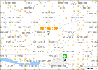 map of Ronsdorf