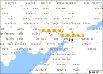 map of Roo de Abajo