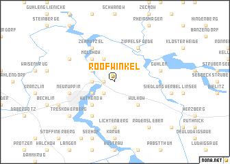 map of Roofwinkel