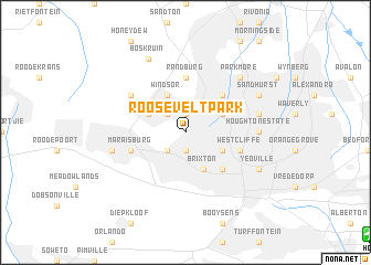 map of Roosevelt Park