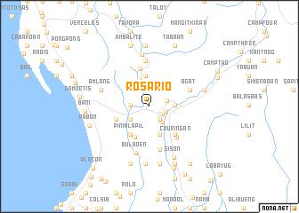 Rosario Philippines map nonanet