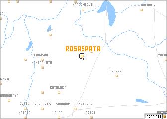 map of Rosaspata
