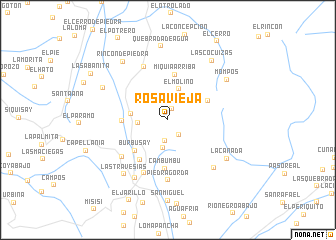 map of Rosa Vieja