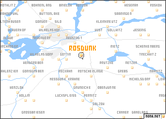 map of Rosdunk