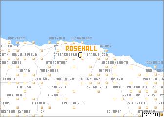 Rose Hall Jamaica map  nonanet