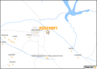 map of Rosemary