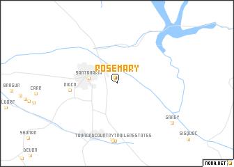 map of Rosemary
