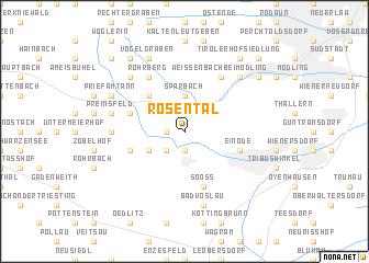 map of Rosental