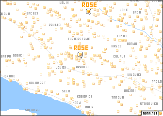 map of Rose