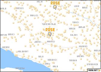 map of Rose