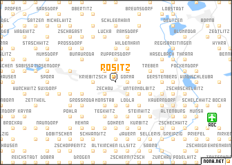map of Rositz