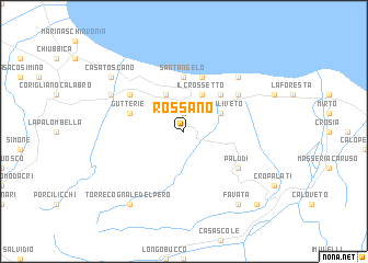 map of Rossano