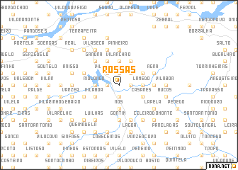 map of Rossas