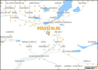 map of Rossschläg