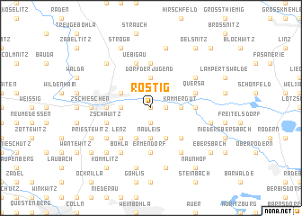 map of Rostig