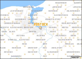 Rostock Germany Map Nona Net