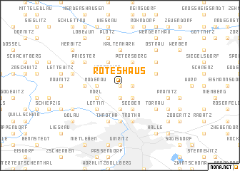 map of Rotes Haus
