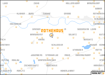map of Rothehaus