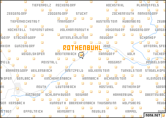 map of Rothenbühl