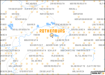 map of Rothenbürg