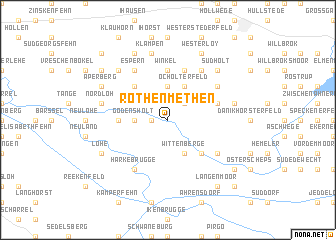 map of Rothenmethen