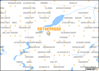 map of Rothenmoor