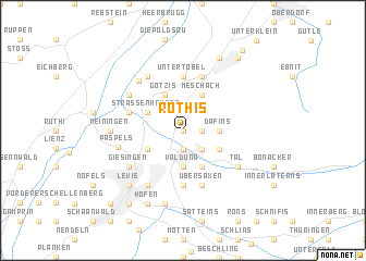 map of Röthis