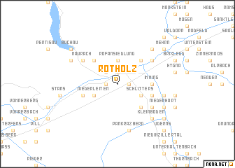 map of Rotholz