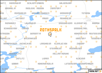 map of Rothspalk