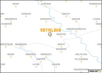 map of Rotislovo