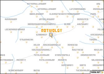 map of Rőtivölgy