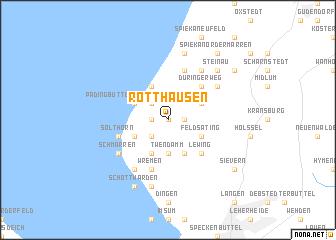 map of Rotthausen
