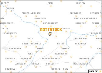 map of Rottstock