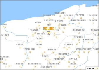 map of Rouadi