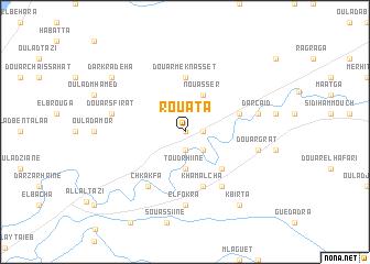 map of Rouata
