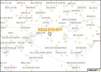 map of Roudenhaff