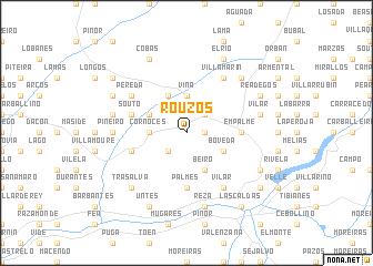 map of Rouzós
