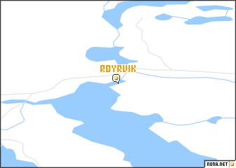 map of Røyrvik