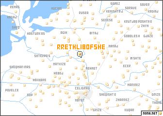 map of Rreth-Libofshë