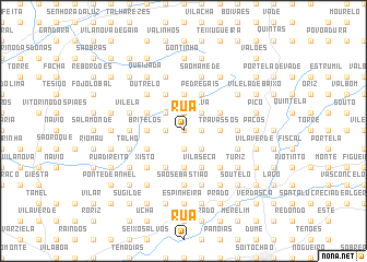 map of Rua