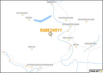 map of Rubezhnyy