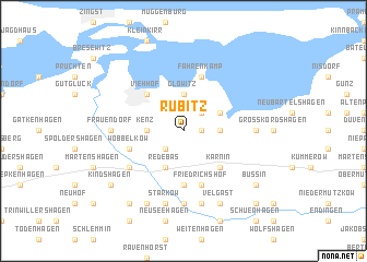 map of Rubitz